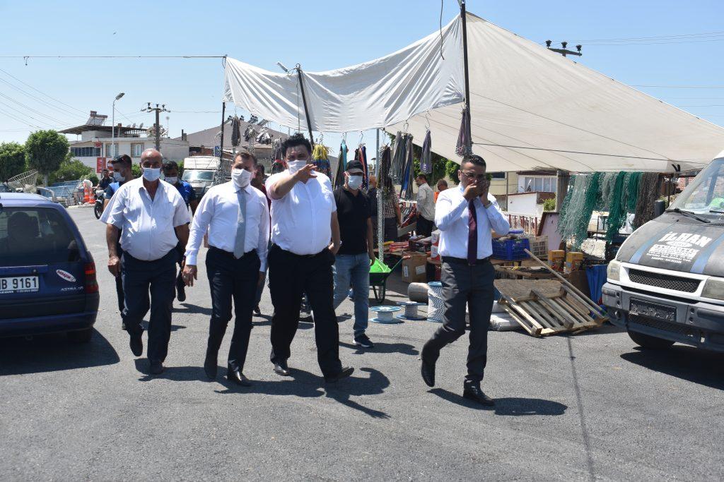 Balıkesir Büyükşehir Belediye Başkanımız Yücel Yılmaz, ilçemizde devam eden asfalt çalışmaları yerinde inceledi 4