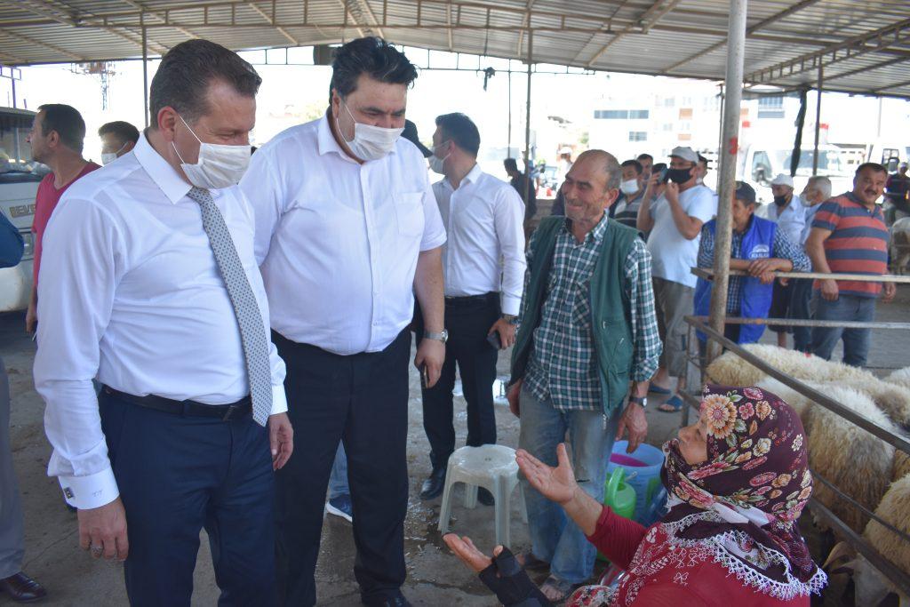 Balıkesir Büyükşehir Belediye Başkanımız Yücel Yılmaz, ilçemizde devam eden asfalt çalışmaları yerinde inceledi 5